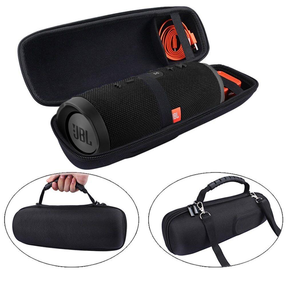 2019 nyaste pu bära skyddande högtalare box cover fodral väska mål för jbl charge 3 charge3 puls 2 trådlösa bluetooth högtalare